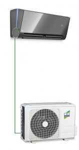 Klimaanlage--Singlesplit-System